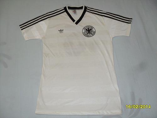 Linda Camisa Alemanha - Década 80 - Rara E Em Ótimo Estado! e4f530fc831d3
