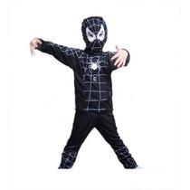 Roupa Fantasia Infantil Spider Man Venom Homem Aranha Tam. M