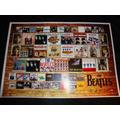 Poster The Beatles C/ Imagem Da Discografia Cartaz Beatles