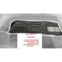 Capa Para Fax E Impressora, 2433, Branca Semitransparente.