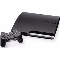 Playstation 3 Slim 160gb Controle Original Cabohdmi Garantia