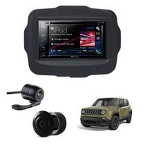 Kit Dvd Multimidia Universal Renegade + Camera Re + Moldura