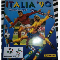 Album World Cup, Copa Do Mundo Italia 1990 Panini Completo