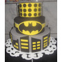 Bolo Cenográfico Do Batman