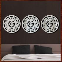Quadros Decor Escultura De Parede Espelho Trio Mandalas