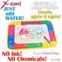 Brinquedo Educativo Lousa De Tecido Caneta De Água Importado