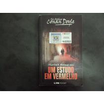 R/m - Livro - Um Estudo Em Vermelho - Sherlock Holmes