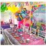 Decoração Para Festa Infantil C/ Painel My Little Pony