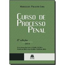 Curso De Processo Penal Gazeta Jurídica Polastri 8ª Ed 2014