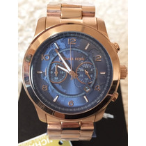 Relógio Feminino Michael Kors Mk8358 Grande Rose Lindo