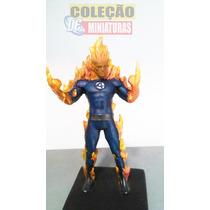 Miniatura Eaglemoss Marvel - Tocha Humana (custom)