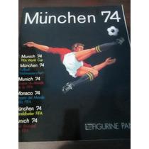 Album Copa Do Mundo Munchen 1974 Panini Impreso Alemanha 74
