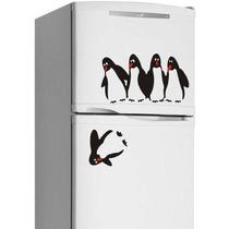 Adesivo Geladeira Decoração Cozinha Frete Grátis Pinguim