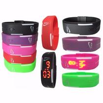 Relógio Pulseira Nike Digital Led Silicone - Varias Cores