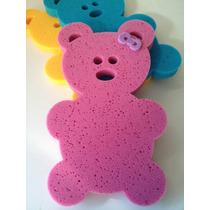 Espuma Anti Derrapante Fundo De Banheira Bebe Urso Esponja