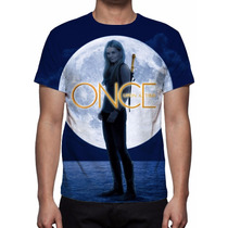 Camisa, Camiseta Série Once Upon A Time - Emma Swan
