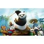 Painel Em Lona Kung Fu Panda 2,00x1,40 Lindo!
