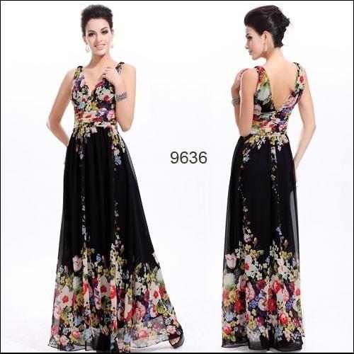 vestido longo festa floral lind237ssimo ever pretty r 310