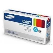 Toner Samsung Clt C407 Ciano Clp 320 / Clp 325 Original