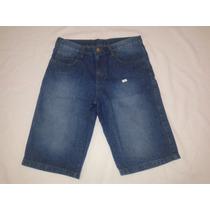 Kit 5 Bermudas Jeans Masculina Com Lycra Atacado Revenda