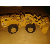 Trator Supermini Caterpillar Anos 70 Antigo Metal