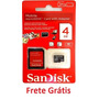 Cartão De Memória Micro Sd 4gb Sandisk Frete Grátis