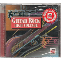 Guitar Rock High Voltage Cd Original Recordings Importado