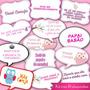 Plaquinhas Divertidas Para Chá De Bebê Personalizadas Kit 10