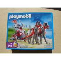 = Playmobil = Biga Romana 2 Cavalos Cinzas Legionário 5812