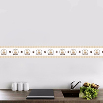 Faixa Adesiva Decorativa Parede Para Cozinha Café