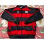 Blusa Casaco Flamengo Rubro Negro Listrado