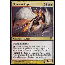 Anjo Cabeleira De Fogo / Firemane Angel