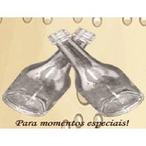 100 Garrafinhas Tipo Champagne 50 Ml (vidro)