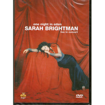 Dvd Sarah Brightman One Night In Eden - Novo Lacrado***