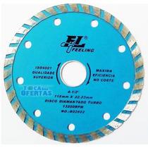 Disco Diamantado P/ Cortar Marmores E/ou Granitos Furo 22mm