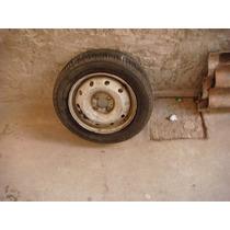 Estepe Fiat Aro 14 Com Pneu Meia Vida Goodyaer Gps3