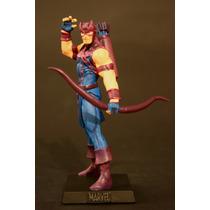 Coleção De Miniaturas Marvel # 50 Gavião Arqueiro Vingadores