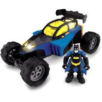 Imaginext Super Heroi Hero World Batman E Batmóvel