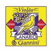 Encordoamento Violão Giannini Canário Náilon Genw Médio