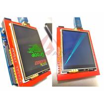 Display Gráfico Touch Tft Arduino 2.4 Pronta Entrega! Novo