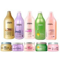 Kit Loreal Shampoo 1500ml + Mascara 500g + Valvula Cortesia