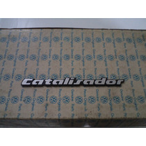Emblema Catalizador Gol Voyage Parati Saveiro Santana 87/92