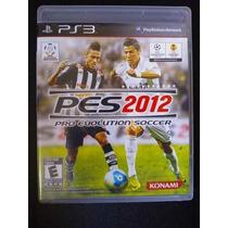 Playstation 3 - Pes 12 - Pes 2012 - Pro Evolution Soccer 12