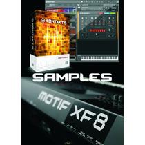 Samples Yamaha Motif Xf8 Para Kontakt - 11 Dvd
