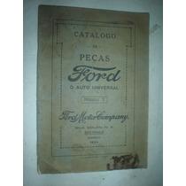Catalogo Peças Ford Modelo T 1924 Original Carros Caminhões