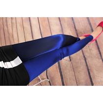 Luxo!!! Calças Legging Imitando Seda - Importadas - P/m