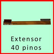 Extensão / Cabo Extensor Do Flat Para Notebooks Com Tela Led