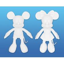 Pelúcia Minnie Long Jump Creative Colors Pinte Como Quiser!!