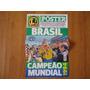 Brasil Tetra Campeã Mundial 1994 Revista Poster Lance