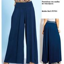 Calça Pantalona .viscolycra Pmg